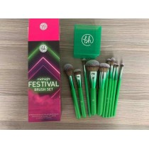 Bh Festival 10 Pcs Makeup Brushes Set