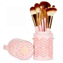 Bh Pink 10 Pcs Brushes Set