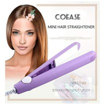 Mini Portable Hair Curl Straightener