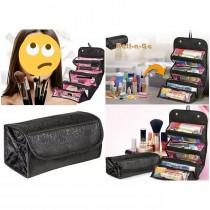 Portable Travel Foldable Cosmetic Bag