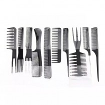 Professional Straight Hair Comb 10Pcs Set