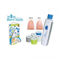Ped egg Bare Nails Electronic Nail Care