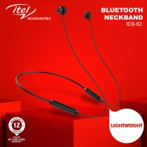 Itel Neckband Magnetic Wireless Earphones-IEB-52