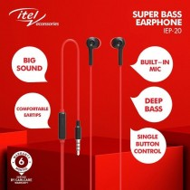 Itel Super Bass Earphone - IEP-20