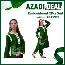 Azadi Deal Embroidered 2Pcs Suit
