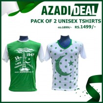AZADI DEAL PACK OF 2 UNISEX TSHIRTS AD-489