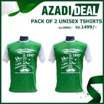 AZADI DEAL PACK OF 2 UNISEX TSHIRTS AD-490