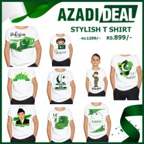 AZADI DEAL STYLISH T SHIRT