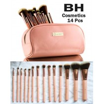 Bh 14 Pcs Make-Up Brushes Pouch