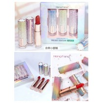 Heng Feng Velvet Lipstick 3 Pcs Set Box