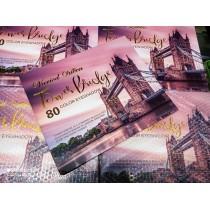 varied Queen Tower bridge 80 colour eyeshadow