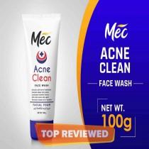 Mec Whitening Acne Clean Face Wash 100g