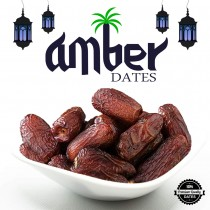 AMBER DATES PREMIUM QUALITY - 500 grams