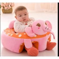 Baby Pink Soft Elephant Sofa Seat