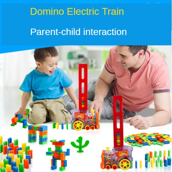 Domino Train Kids Toy
