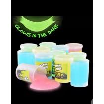 Pack of 4 Glow in the Dark Slime