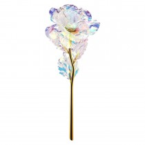 24K Gold Rose Foil Flower Eternity Rose Romantic