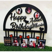 Customized Acrylic Photo Frame