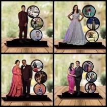 Customized Acrylic Table Photo Frame