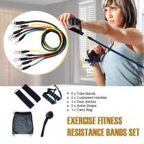11Pcs Resistance Bands Set RB-325