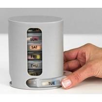 Pill Pro Weekly Pills Tablets Medicine Organizer