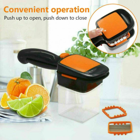 5 in 1 Vegetable Fruit Slicer Presser