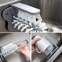 Dual glass scrub brush RB-643