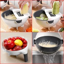 Easy Drain Bowl with Cutter