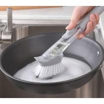 Multi-Functional Soap Dispensing Dish Brush