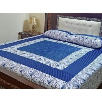 New Embroidered 3pc Bedsheets RB-728