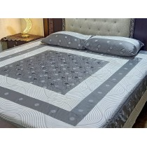 New Embroidered 3pc Bedsheets RB-730