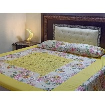 New Embroidered 3pc Bedsheets RB-733