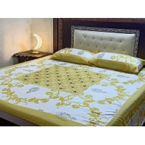 New Embroidered 3pc Bedsheets RB-735