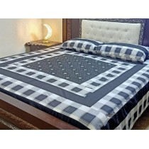 New Embroidered 3pc Bedsheets RB-736