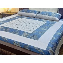 New Embroidered 3pc Bedsheets RB-738