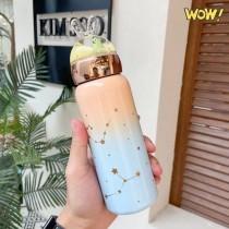 New Gradient Stainless Steel Water Bottle Unicorn Flask