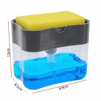 Plastic Sponge Box With Soap Dispensers RB-121
