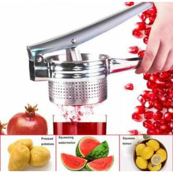 Stainless Steel Orange Squeeze Juicer Manual Portable Machine