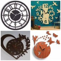 Wooden Wall Clock SO-7559