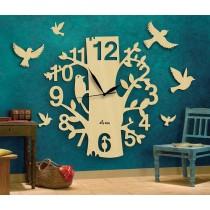 Wooden Wall Clock SO-7560
