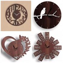Wooden Wall Clock SO-7562