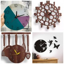 Wooden Wall Clock SO-7563