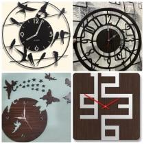 Wooden Wall Clock SO-7565