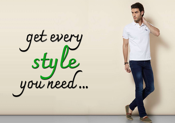 Get Every Style You Need - Men's Clothing