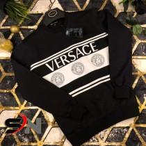 Versace Print Style Summer T-Shirt Black