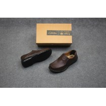 Leather Clarks Shoes MSO-0230