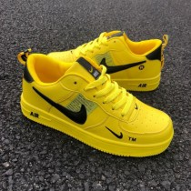 Nike Air Force Utility Shoes Yellow