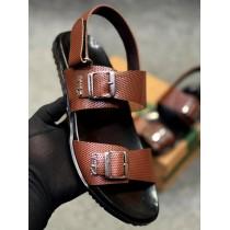 Clarks Side Strap Men's Sandal Dark Brown