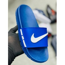 Nike Mens Blue Slides