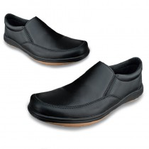 Men's Ultimate Black Leather Shoes